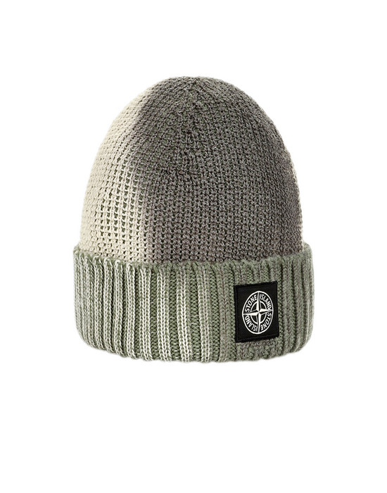 STONE ISLAND Hat N04B5 ICE KNIT_THERMO SENSITIVE YARN
