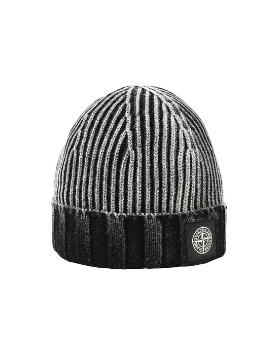 STONE ISLAND Hat N01B7 WHITE FROST