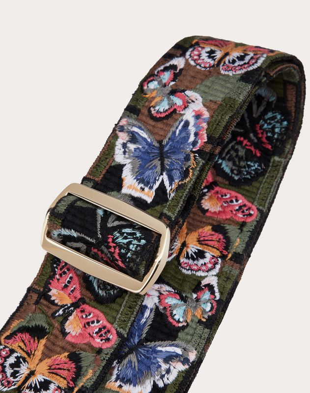Camubutterfly Guitar Strap