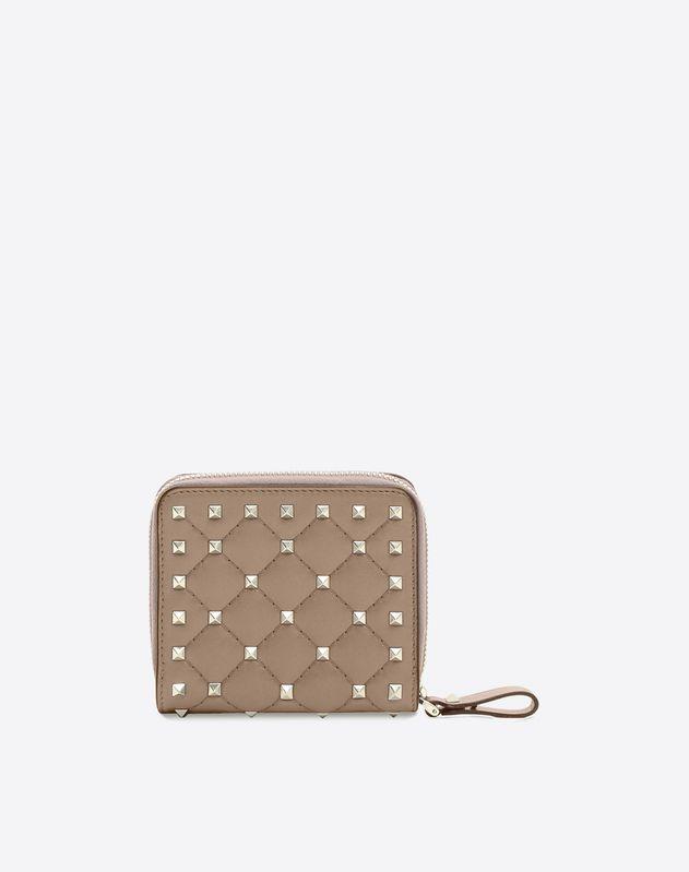 Rockstud Spike Compact Wallet