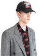 """LANVIN Hat Man """"PARADISE"""" CANVAS CAP f"""