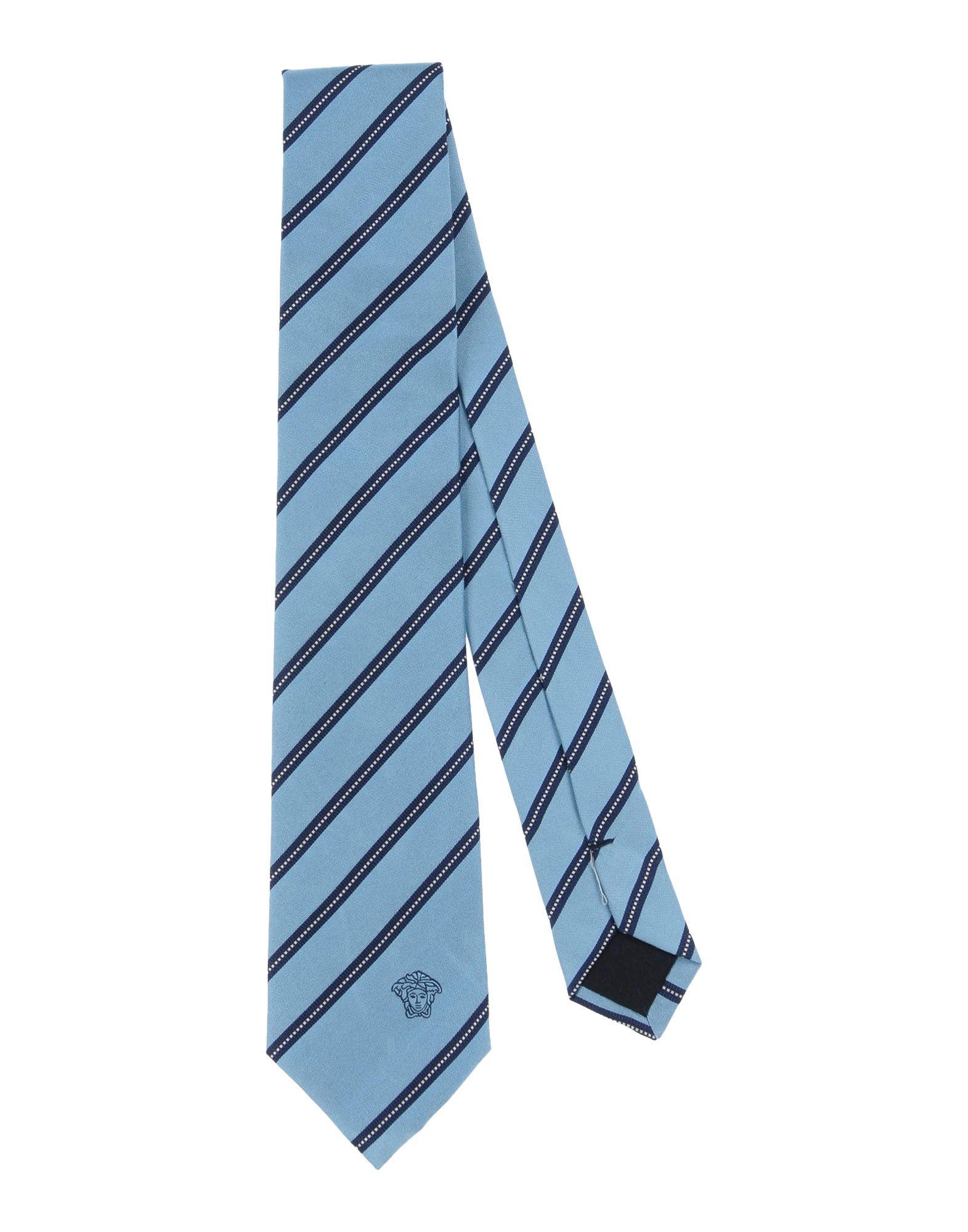 VERSACE Галстук versace бордовый галстук в клетку внизу с логотипом versace 821752 page 2
