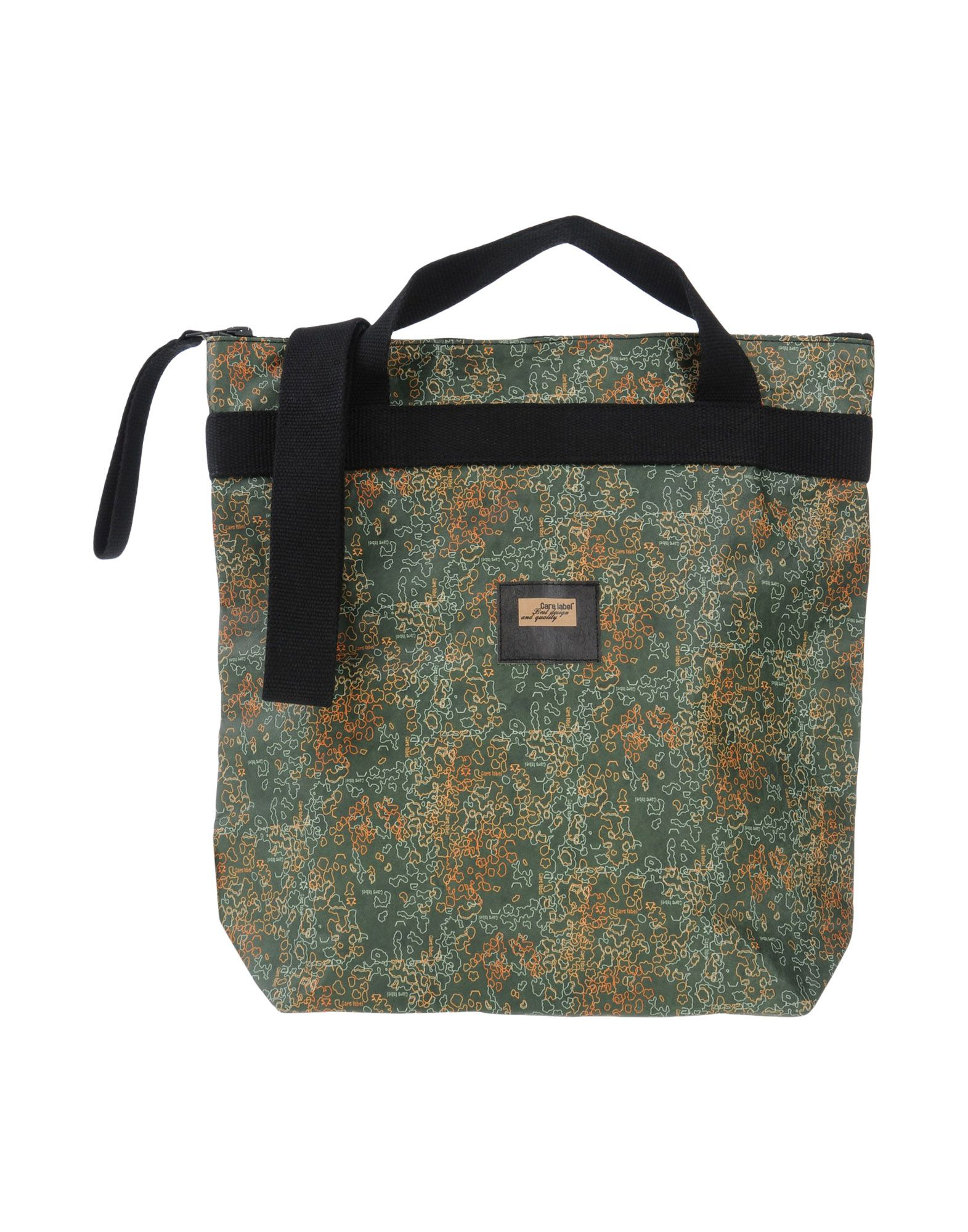 CARE LABEL Cross-Body Bags in Military Green