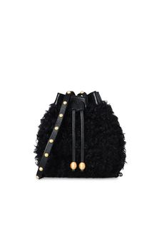 PHILOSOPHY di LORENZO SERAFINI BAG D BLACK WINTER MELODY BAG f