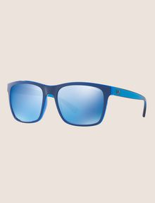 ARMANI EXCHANGE POOL BLUE RETRO SUNGLASSES Sunglass U e