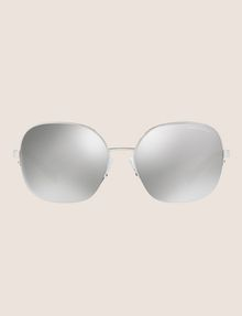 ARMANI EXCHANGE OVERSIZE CHROME SUNGLASSES Sunglass Woman f