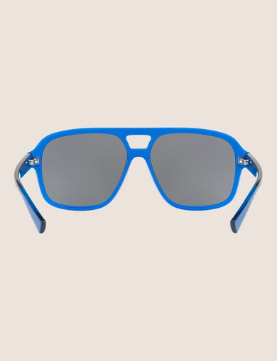 POOL BLUE BOLD AVIATOR SUNGLASSES