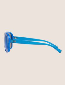 ARMANI EXCHANGE POOL BLUE BOLD AVIATOR SUNGLASSES Sunglass Man d