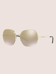 ARMANI EXCHANGE OVERSIZE CHAMPAGNE SUNGLASSES Sunglass Woman e