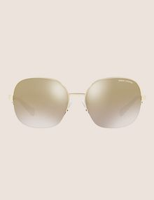 ARMANI EXCHANGE OVERSIZE CHAMPAGNE SUNGLASSES Sunglass Woman f