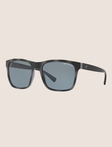 ARMANI EXCHANGE SLEEK BLACK RETRO SUNGLASSES Sonnenbrille Herren e
