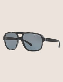 ARMANI EXCHANGE DARK TORTOISE AVIATOR SUNGLASSES Sunglass Man e
