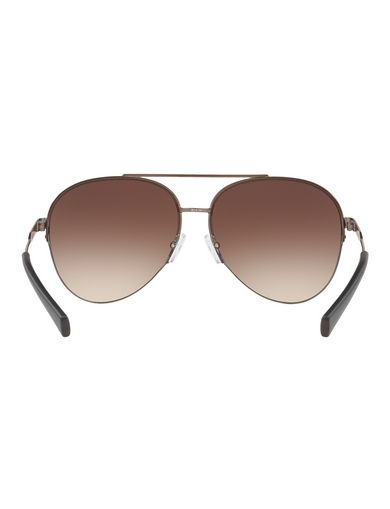CONTRAST ARM TORTOISE AVIATOR SUNGLASSES