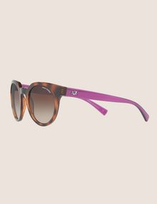 ARMANI EXCHANGE TORTOISE TWO-TONE FRAMES Sunglass Woman e
