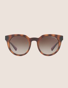 ARMANI EXCHANGE TORTOISE TWO-TONE FRAMES Sunglass Woman f
