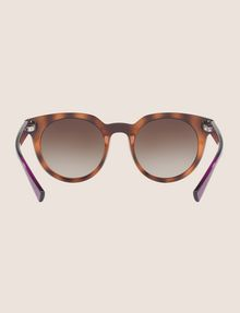 ARMANI EXCHANGE TORTOISE TWO-TONE FRAMES Sunglass Woman r