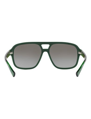 SOLID COLORBLOCK AVIATOR SUNGLASSES