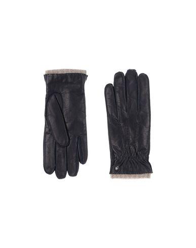 Фото - Мужские перчатки DAL DOSSO® темно-синего цвета