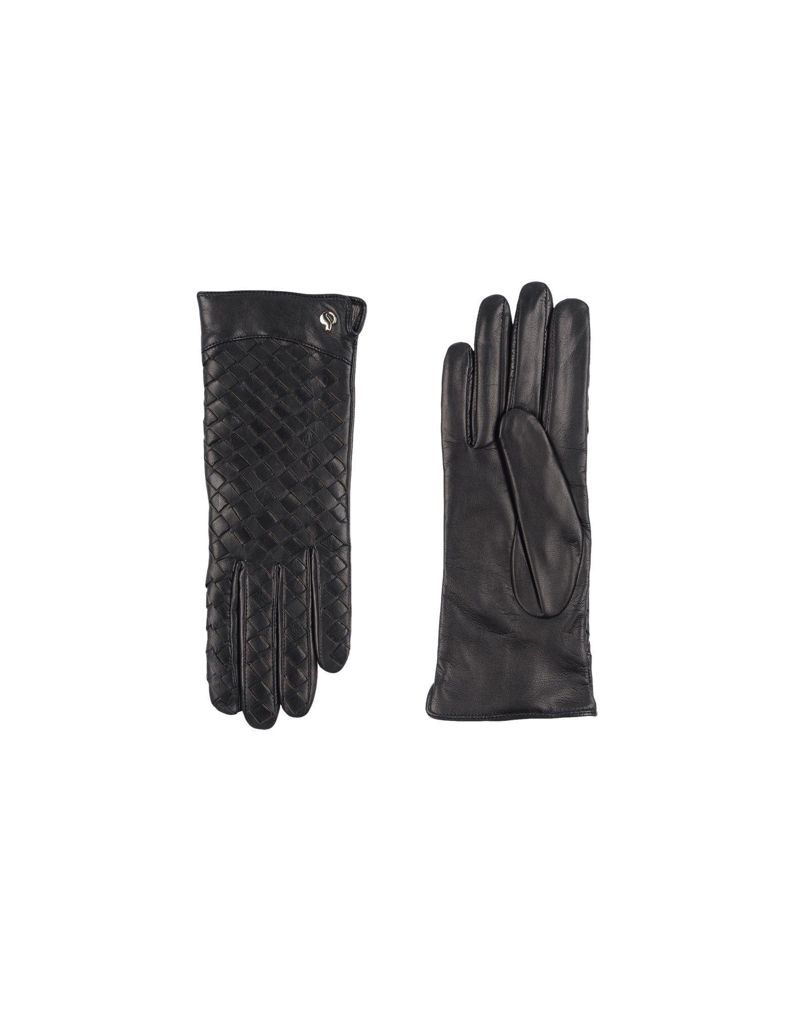 《セール開催中》DAL DOSSO? レディース 手袋 ブラック 7 革