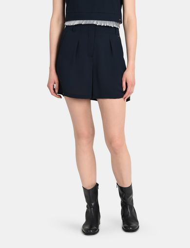 PLEATED WAIST DRESS SHORTS