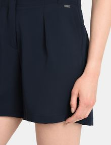 ARMANI EXCHANGE PLEATED WAIST DRESS SHORTS Shorts Woman e