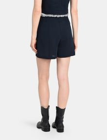 ARMANI EXCHANGE PLEATED WAIST DRESS SHORTS Shorts Woman r
