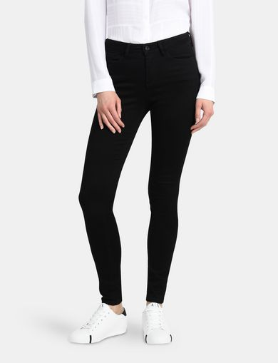ULTRA-BLACK SUPER SKINNY JEANS
