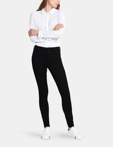 ARMANI EXCHANGE TRUE BLACK SUPER-SKINNY JEAN Skinny jeans Woman a
