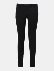 ARMANI EXCHANGE ULTRA-BLACK SUPER SKINNY JEANS Skinny jeans Woman b