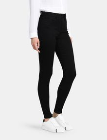 ARMANI EXCHANGE ULTRA-BLACK SUPER SKINNY JEANS Skinny jeans Woman d