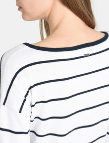ARMANI EXCHANGE MIXED STRIPE PULLOVER SWEATER Pullover Woman e