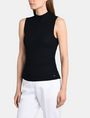 ARMANI EXCHANGE RIBBED MOCKNECK SWEATER TANK Pullover Woman d