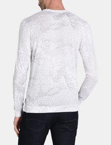 ARMANI EXCHANGE ANGULAR EAGLE CREWNECK SWEATER Pullover Man r