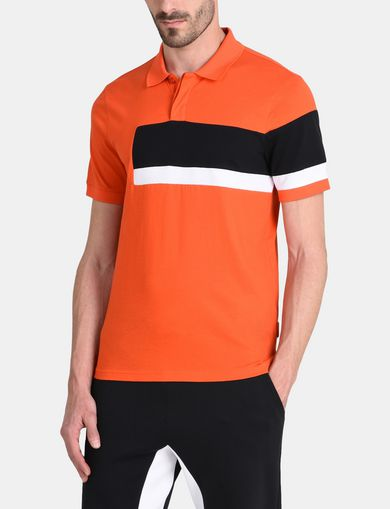 OFFSET STRIPE POLO
