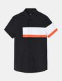 ARMANI EXCHANGE SHORT SLEEVE OFFSET STRIPE SHIRT Kurzärmeliges Hemd Herren b