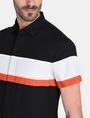 ARMANI EXCHANGE SHORT SLEEVE OFFSET STRIPE SHIRT Kurzärmeliges Hemd Herren e