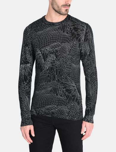 ANGULAR EAGLE CREWNECK SWEATER