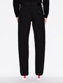 ARMANI EXCHANGE CLASSIC STRAIGHT-LEG BLACK JEANS STRAIGHT FIT JEANS Man e