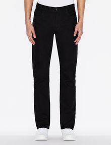 ARMANI EXCHANGE CLASSIC SLIM-FIT BLACK JEANS SLIM FIT JEANS Man f