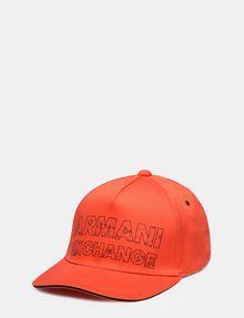 ARMANI EXCHANGE REFRACTED LOGO HAT Hat Man f