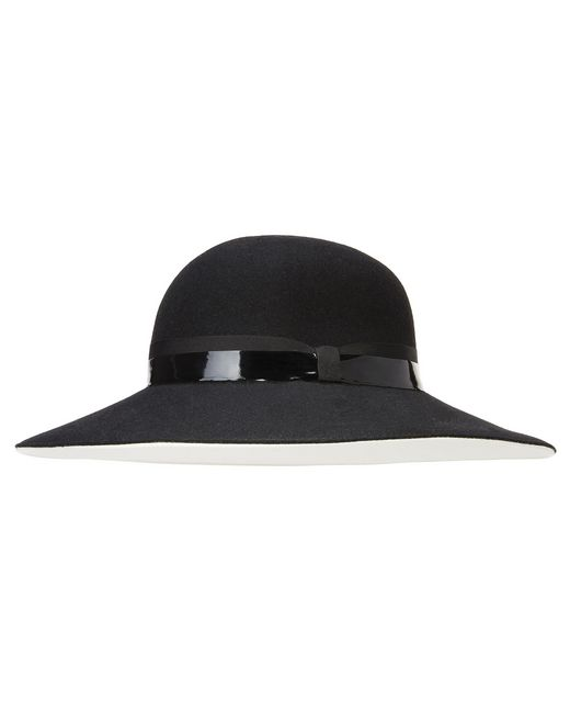 TWO-TONED HAT - Lanvin