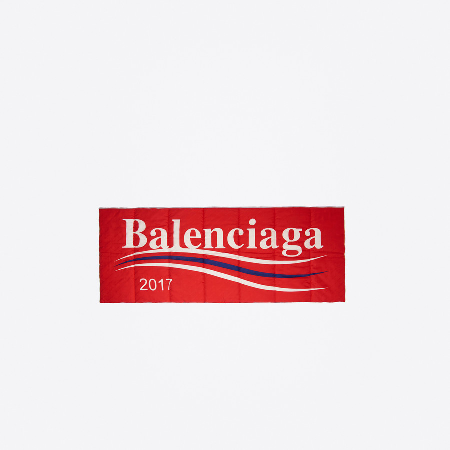 BALENCIAGA Balenciaga 2017 Padded Shawl Scarves & foulards Man d