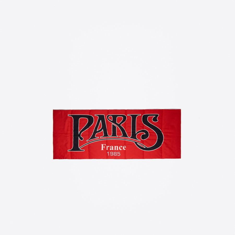 BALENCIAGA Paris 1987 Padded Shawl Scarves & foulards U f