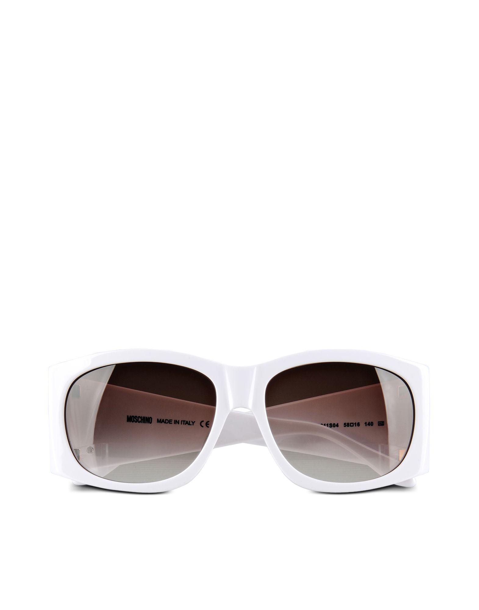 MOSCHINO Солнечные очки бусы из янтаря солнечные дни