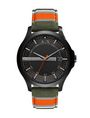 ARMANI EXCHANGE TACTICAL STRIPE WATCH Watch Man f