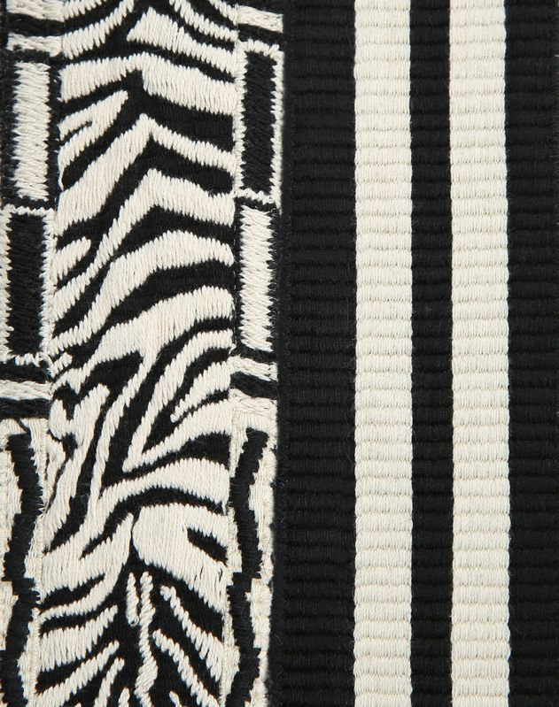 Bandoulière à motif Zebra