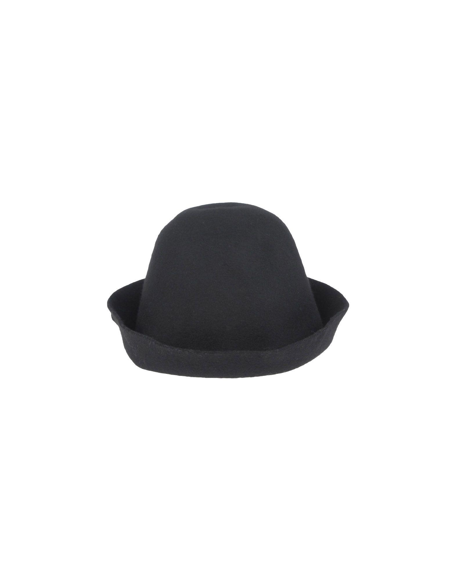《送料無料》NORA BARTH レディース 帽子 ブラック 56 ウール 100%