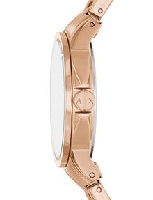 ARMANI EXCHANGE MINIMAL FACE ROSE GOLD-TONE BRACELET WATCH Fashion Watch [*** pickupInStoreShipping_info ***] d