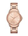 ARMANI EXCHANGE MINIMAL FACE ROSE GOLD-TONE BRACELET WATCH Fashion Watch [*** pickupInStoreShipping_info ***] f