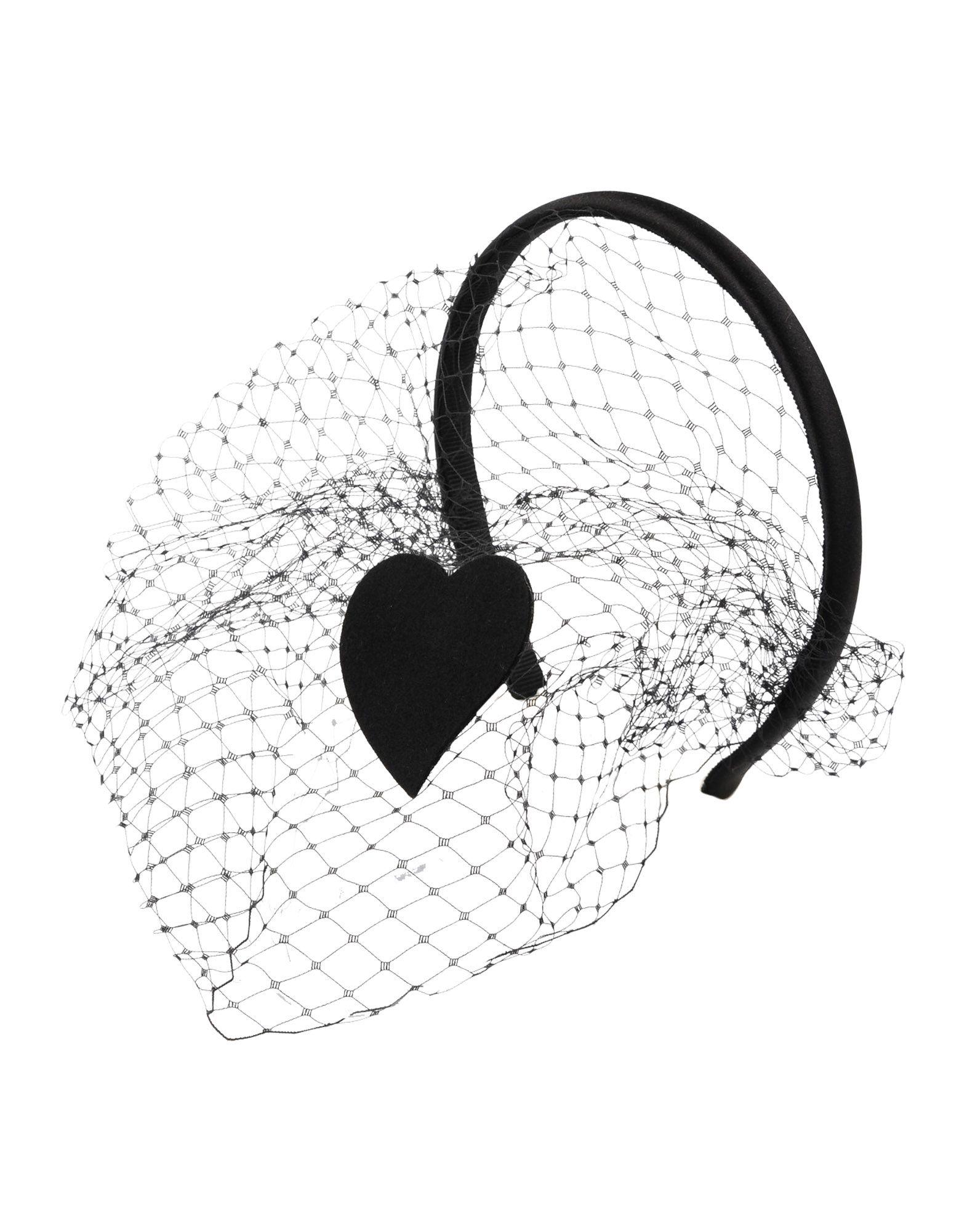 《送料無料》REDValentino レディース ヘアアクセサリー ブラック 紡績繊維